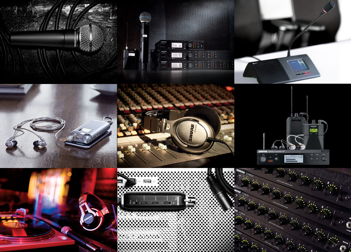 Shure Products Wiring Xlr Audio Musical Theatre
