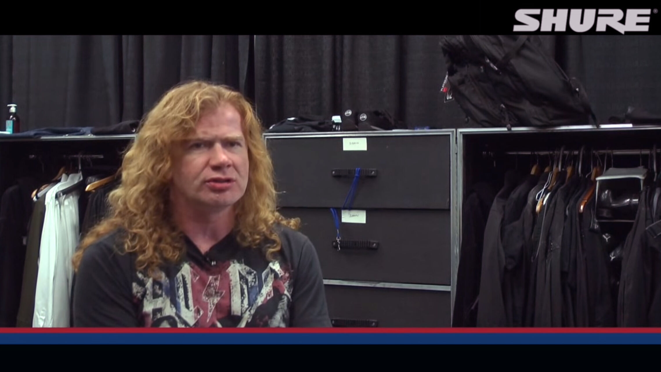 Dave Mustaine - The Shure Interview